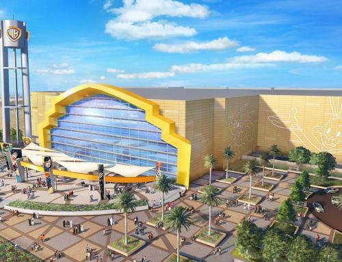 Projet de l'hôtel Warner Bros à Abu Dhabi.